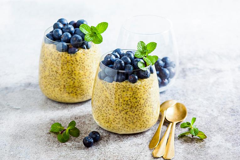 Sağlıklı tatlılar chia tohumu ile yapılır
